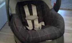 """Embrace Infant Car Seat: For children 5 lbs - 22 lbs and at least 19"""" 5-point safety harness Removable base with position indicator Energy-absorbing EPS foam CarryRight Z-shaped handle Meets or exceeds all applicable federal safety standards and has"""