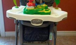 for sale evenflo high chair $25 call 782-8875