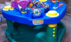 EVENFLOW DELUX EXERSAUCER 3 HIGHT SETTINGS LOTS OF TOYS