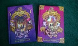 EVER AFTER HIGH hard cover both for 15.00