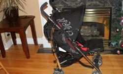 Like new Cosatto brand stroller for sale; bought at an original price of $130, very clean and is currently in great condition. Back rest can be adjusted and is collapsable for convenient use.   If you are interested, please contact me at 604-434-3567 or