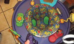 My son has grown out of his exersaucer and its just taking room in my apartment so need it out asap