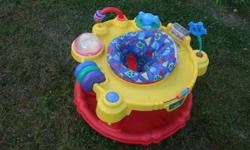 exersaucer for sale. excellent condition. babies love it ! asking $35 obo