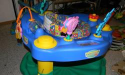 Exersaucer for sale One spring is missing but still works. That's why the low price.