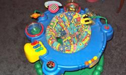 Exersaucer,(evenflo), excellent condition. Barely used.