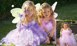 Birthday celebrations, weddings, photos, tea parties, or just because?what little girl doesn't love to dress up and feel like a queen? Now your sweet damsel's fairytale dreams can come true with a boutique-style Fairy Princess Dress set from Heart to