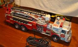 Fire Truck battery operated needs batteries every thing works on the truck $20.00 905-648-2792