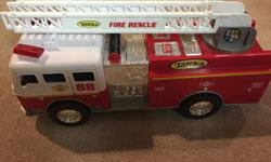 Great fire truck...needs a new home and someone to play with. Great condition, smoke & pet-free home. Pick-up in Barrhaven. Note: child boot is in picture to give you idea of size of truck.