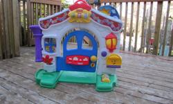 Fisher-Price Laugh & Learn Learning Home Playset Price: $45.00   Excellent Condition