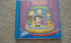 Fisher-Price / Little People / Sing-Along Favorites CD Track Listing 1. If You're Happy and You Know It 2. Teddy Bear's Picnic 3. The Itsy Bitsy Spider Medley 4. Ants Go Marching 5. Apples and Bananas 6. What Can the Matter Be? Oh Dear 7. Muffin Man 8.