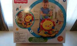 NEW PRICE 7/13/16 The Fisher-Price Lion Walker is perfect to steady baby's 1st steps while exploring the new world of walking! A sturdy, lion character themed walker featuring two modes of play: Sit & Play and Stand & Walk. Sit & Play mode features lots