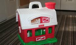 older fisher price barn $5.00 fisher price car wash with sounds $15.00