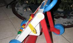 Fisher Price Walker: Great shape and the best part is it folds up flat!  Asking only $15.