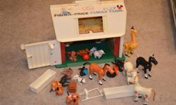 Have an older Fisher Price Farm with animals. In great shape.