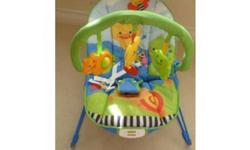 Excellent condition, barely used, my daughter liked to be held. Smoke free/pet free home.