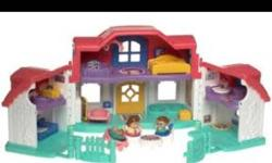 Looking for a fisher price house for my daughter or any 'girly'/ pink sets. I have all the 'boyish' ones from when my sons were little. Looking for 'girly' ones. Even the castle. This ad was posted with the Kijiji Classifieds app.