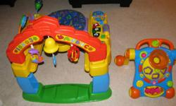 Excellent shape Fisher Price Intellitainer and Pusher for sale. $40.00 for both or will sell separately. Must have for new family members. Make an offer.
