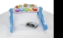 Barely used. This toy can be hooked up to the TV, or can be used alone with 2 settings. Retails on Sears.com for $110.