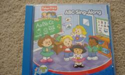 "Fisher Price / Little People / ABC Sing-Along CD Track Listing 1. The Alphabet Song 2. ""A"" You're Adorable 3. Bringing Home a Baby Bumblebee 4. The ""C"" Game 5. Did You Ever See a Doggie? 6. It's Funny About the Letter ""E"" 7. Freddie the Frog 8. Good Golly"
