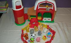 For sale this beautiful Farm Fisher Price Little People With Sound and animals, In clean and good condition, Price $ 20