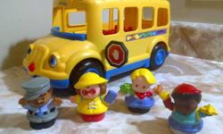 "Stop and go,"" that?s what riding the school bus is all about. That and enjoying the bumpy, ""wiggly-wobbly"" ride, of course! This cute bus will appeal to every toddler and preschooler who has gazed longingly out the window as the big kids board the big"