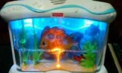 Fisher Price Ocean Wonders Musical Aquarium Crib Attachment in a good condition. Pet smoke free home. Plz see my other ads for more baby items. Serious inquiries and pick up only