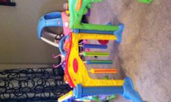 3 section play wall the  lights up with music. Fun fot little ones just learning to crawl. Will take ad down when it's sold