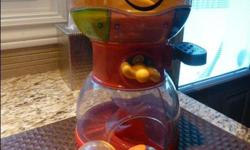 Fisher Price Roll-a-Rounds Swirlin Surprise Gumballs * Baby loads the 4 balls in the upper bowl and with each press of the lever, a ball will swirl down the spiral while lights and music play * There is a tray on the bottom bowl to catch the balls from
