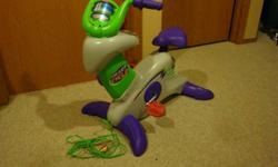 I have a Fisher Price Smart Cycle for sale. Comes with 2 games, Learning . Adventure and Dora's Friendship Adventure.
