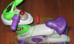 Fisher Price Smart Cycle. Children's interactive game- used to help teach letters, numbers, shapes, motor skills and more. For ages 2 1/2 and up. Comes with one game- Learning Adventure.