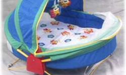 Fisher Price Take Away Baby Play Gym $40 - perfect for Christmas visits SO AWESOME! A little playpen for inside or out with places to hang toys and an insect net that zips up. The whole thing fodls in half for easy storage - a MUST HAVE in my books!
