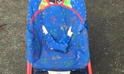 Soothing vibrating chair for baby