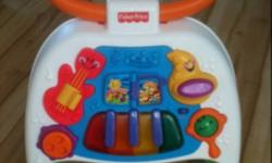 Fisher price walker and activity center This ad was posted with the Kijiji Classifieds app.