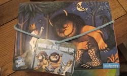 Where the Wild things are & Melissa & Doug planets floor puzzles. In excellent condition.