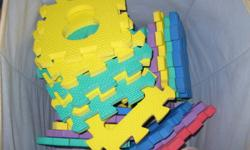 The middles of these are gone, but they are still a lot of fun for the kids to put together!