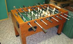 SPORTCRAFT FOOSBALL TABLE. Only 2 years old in perfect shape. Paid over $450 new, asking $260 OBO. Selling because of limited space in our basement. This table is ligit. It's a full sized table. Excellent quality and condition.   Great Christmas gift for
