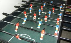 """Foosball Table approx. 48""""x24""""x36"""" Comes with 3 soccer balls Ecellent condition! Want gone asap please Asking $75 obo"""