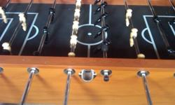 Foosball table for sale, need the space and dont use it anymore. bought two years ago for $225 looking for $175 obo.