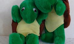 For little hands that love Franklin the Turtle. Two hand puppets in clean & excellent condition. Asking $3 each or $5 for two. From a smoke-free & pet- free home.