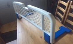 Removable bed rail to prevent your kid from spilling out onto floor... Posted with Used.ca app