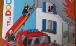 a French educational book about firemen.