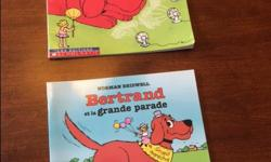 Includes: - Bertrand et la grande parade - Bertrand garde son sang-froid Good condition. Call or text (306) 539-8129 if interested. No holds