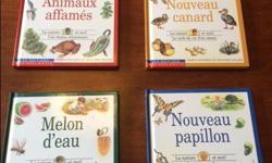 Includes: Animaux affamés Nouveau canard Nouveau papillon Melon d`eau Good condition. Call or text (306) 539-8129 if interested. No holds.