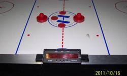 """7' X 3'6"""" Air hockey table, paddles and pucks $75.00 obo"""