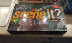 $5 each Harry Potter Scene It (SOLD). Zombie invasion card game. Heads Up humming game (so much fun! !) and Star Wars puzzle in metal tin.