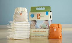 Starter kit and refill biodegradable liners $52 + taxes  new.........Open to Offers GREAT for Camping!! Never used. I did open The starter kit and used 2 liners as guides to make cloth liners for diapers. But neither g diaper has ever been used. Size
