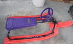 Have a ton of fun with this fast G. T. Snow Racer.