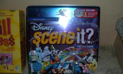 Disney Scene it, Mall Madness, Lite Brite, Spirograph, Digital Light Designer. All in working order. All for $20.00. Great Condition!