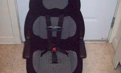 20 - 48 lbs with internal 5-point harness 40-100 lbs with vehicle seat belt only PositionRight? headrest adjusts to 5 heights to grow with your child 5-point harness provides security for your child Central Front Harness Release allows parents easy access