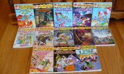 13 soft cover books for $ 25.00 + 2 hard cover also available ( $ 4.00 extra for each)